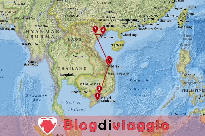 10 giorni in Vietnam Tour: Da Sud a Nord