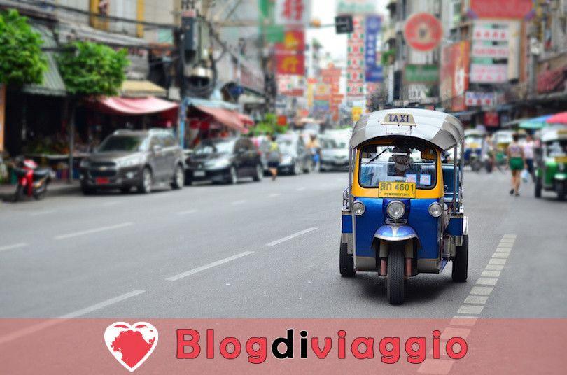 Un'idea di itinerario campione per il nord della Thailandia verso il Laos