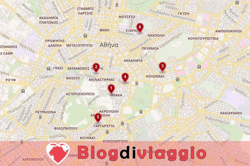 Dove alloggiare ad Atene: I migliori quartieri e hotel
