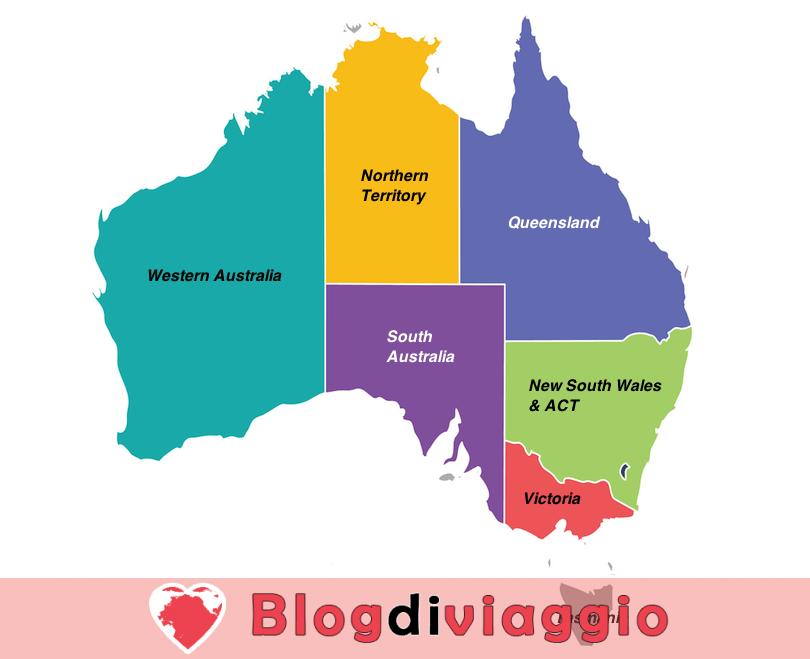 7 Regioni più belle in Australia