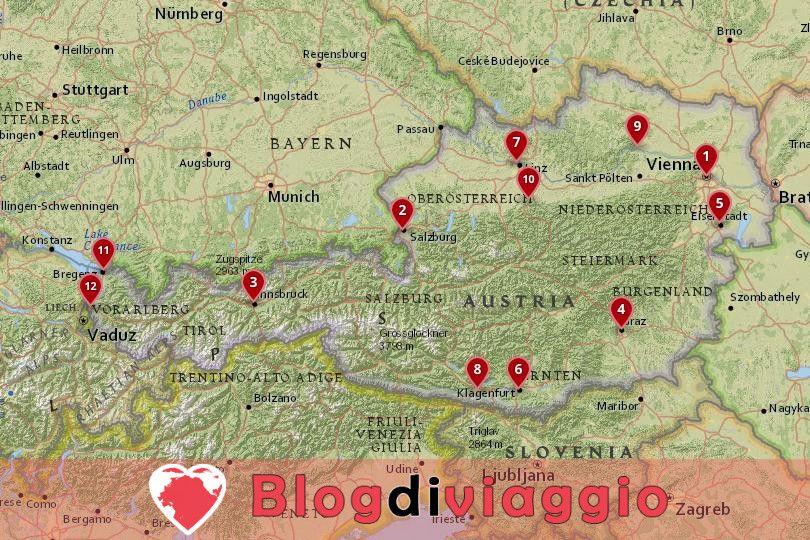 12 Migliori città da visitare in Austria