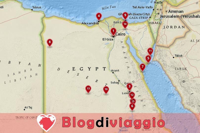 15 Migliori città da visitare in Egitto