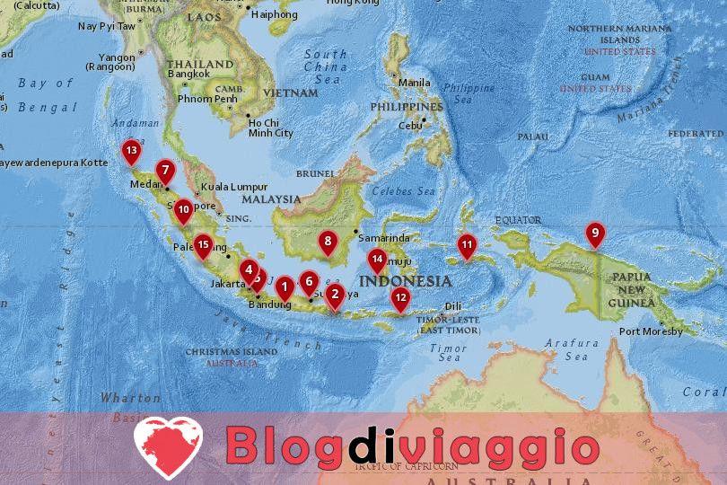 15 Migliori città da visitare in Indonesia