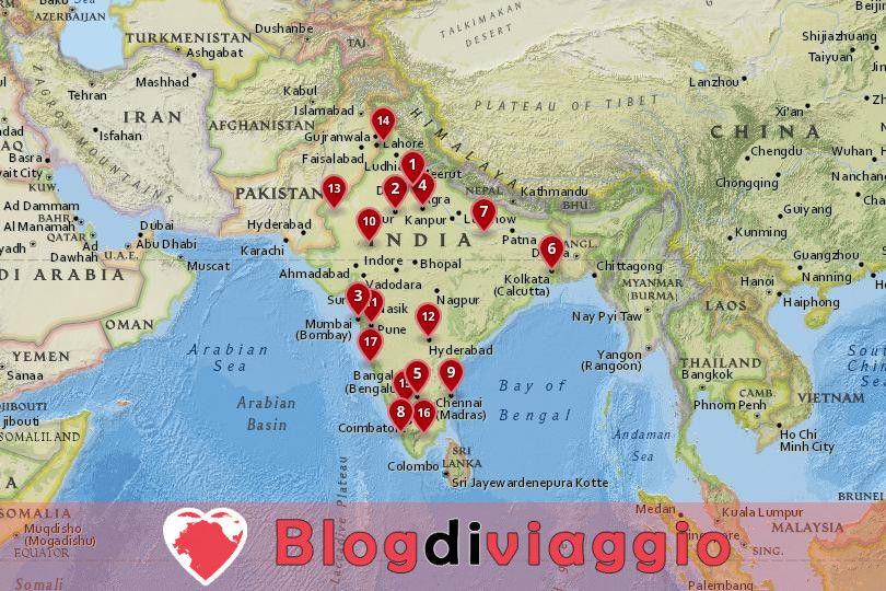 17 Migliori città da visitare in India