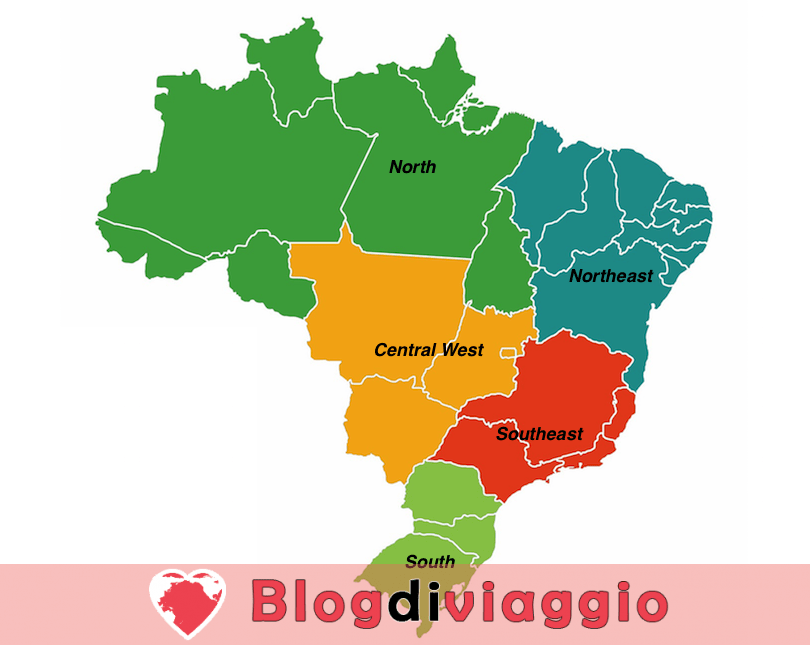 5 Regioni più belle del Brasile