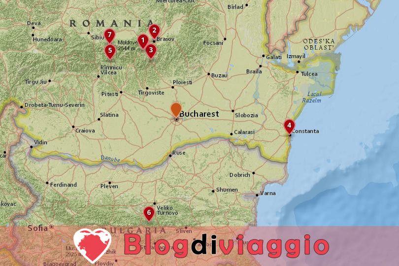 7 Gite di un giorno da Bucarest