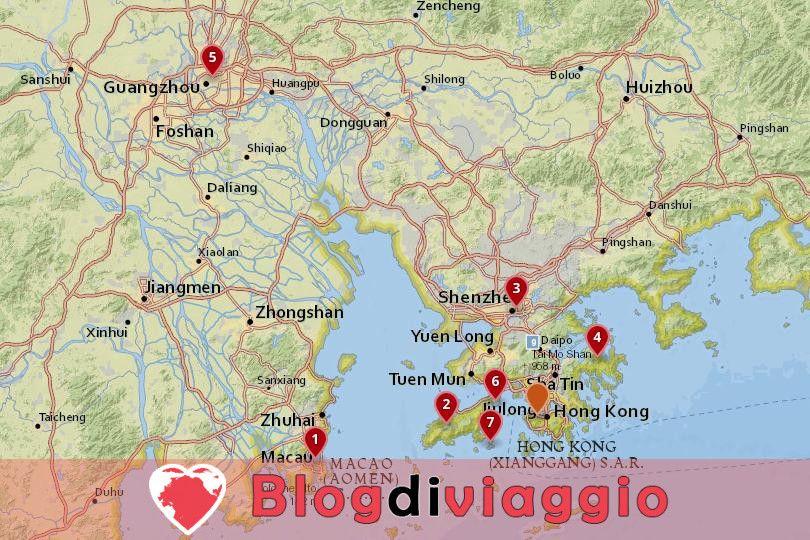 7 Miglior viaggio di un giorno da Hong Kong