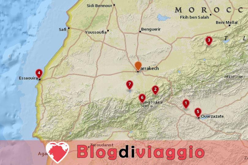 7 Gite di un giorno da Marrakech