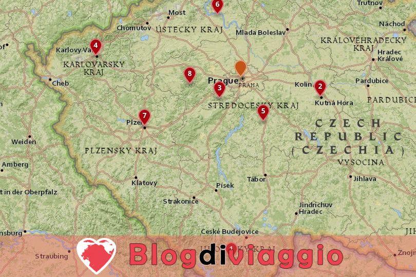 8 Gite di un giorno da Praga