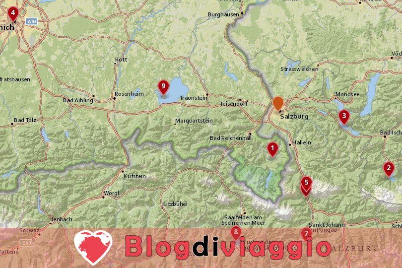 9 migliori gite di un giorno da Salisburgo