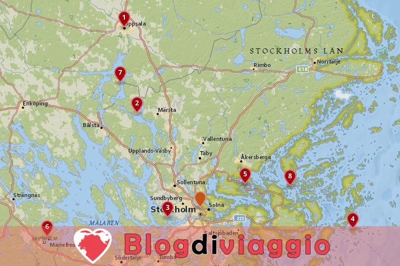 8 migliori gite di un giorno da Stoccolma