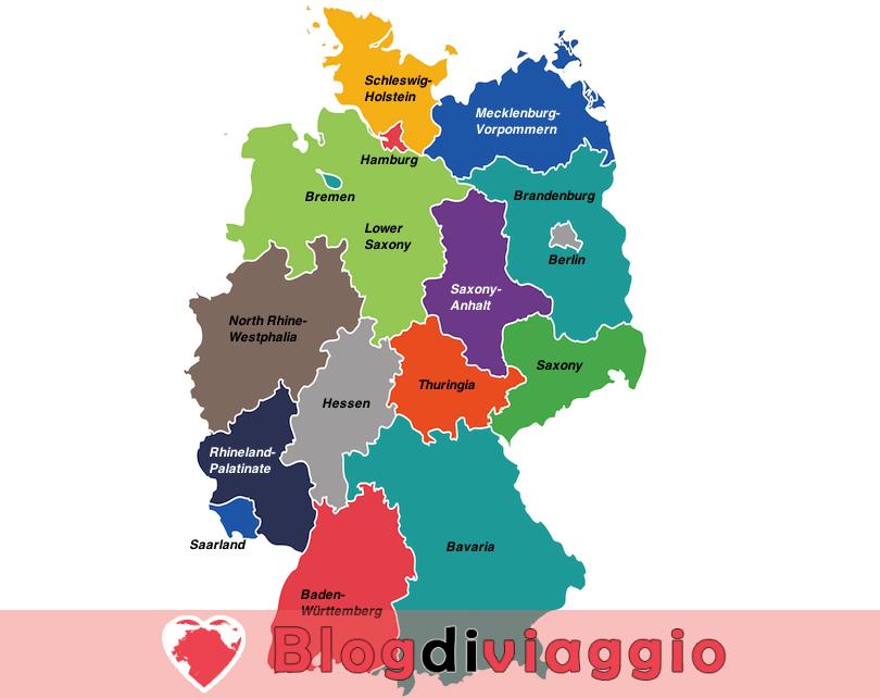 16 Regioni più belle della Germania