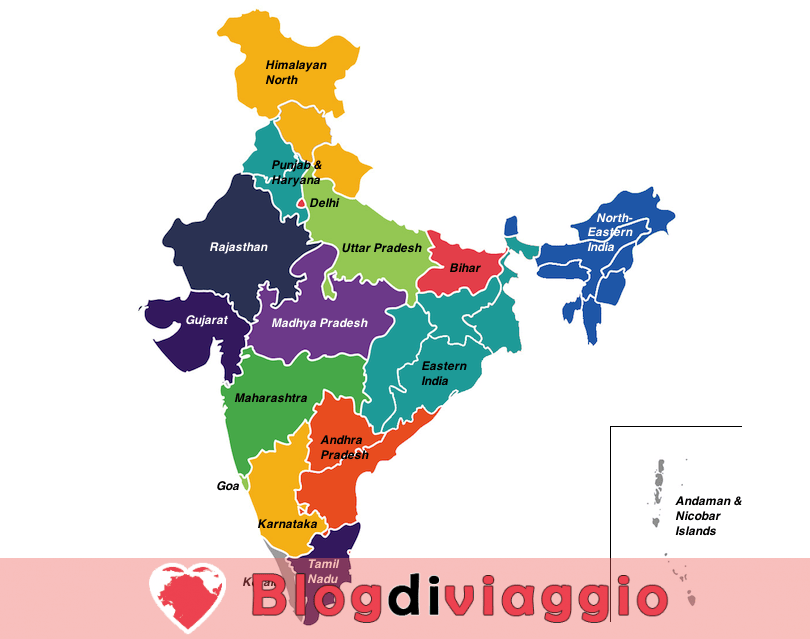17 Regioni più belle dell'India