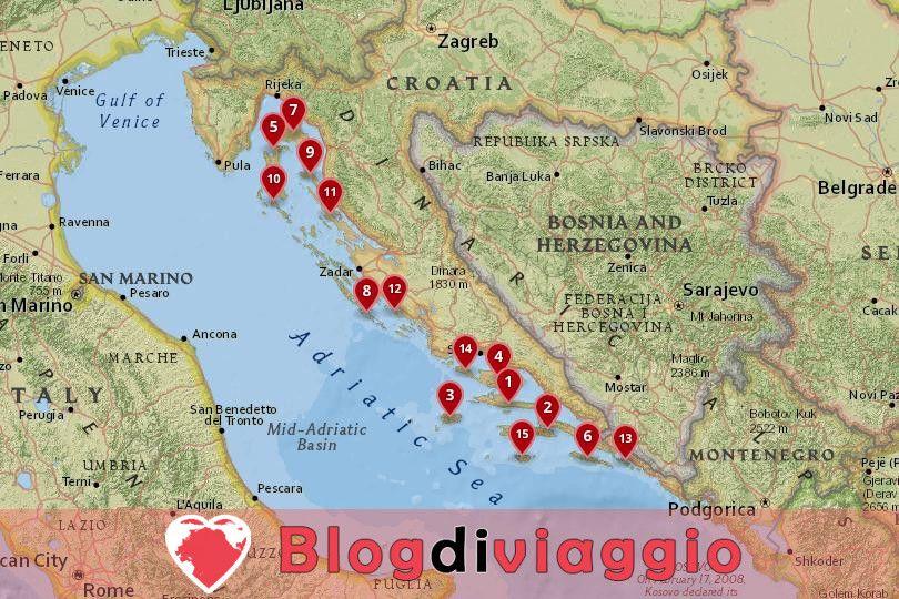 15 Migliori isole croate