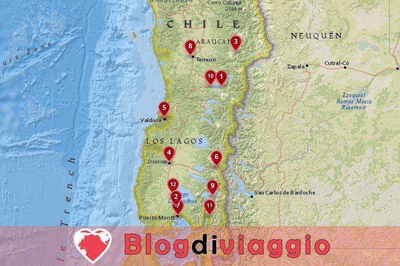 12 Destinazioni top nel Lake District, Cile