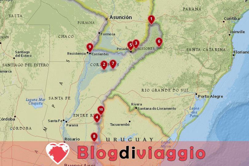 10 Luoghi da visitare in Mesopotamia, Argentina