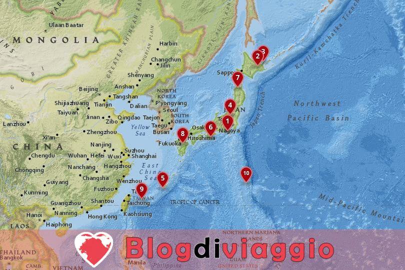 10 Parchi Nazionali più belli del Giappone