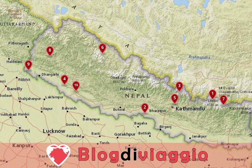 10 Parchi Nazionali più belli del Nepal