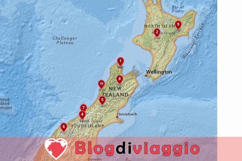 10 Parchi Nazionali più belli della Nuova Zelanda