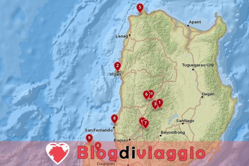 11 Destinazioni top a Luzon Settentrionale, Filippine