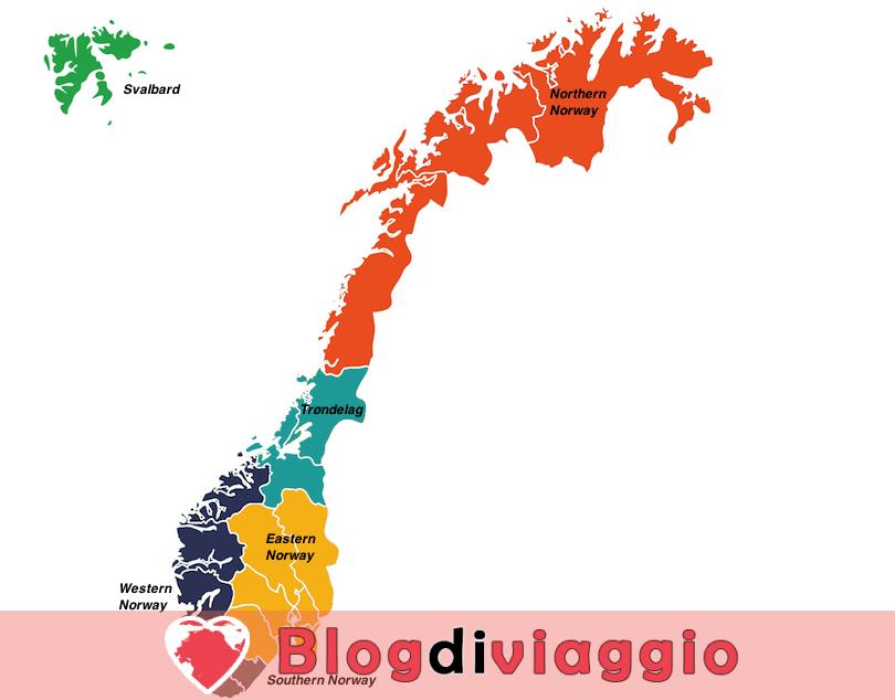 6 Regioni più belle in Norvegia