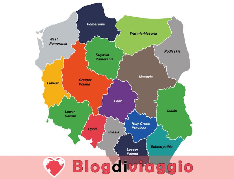 16 Regioni più belle in Polonia