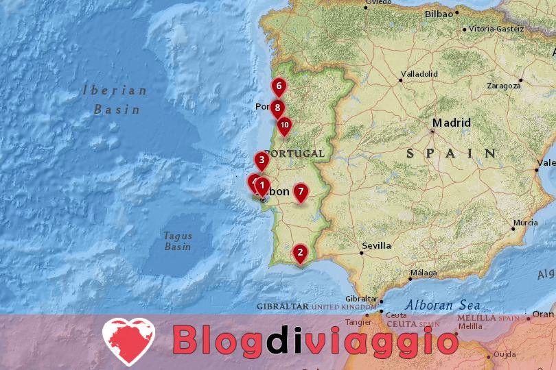10 Luoghi da visitare in Portogallo