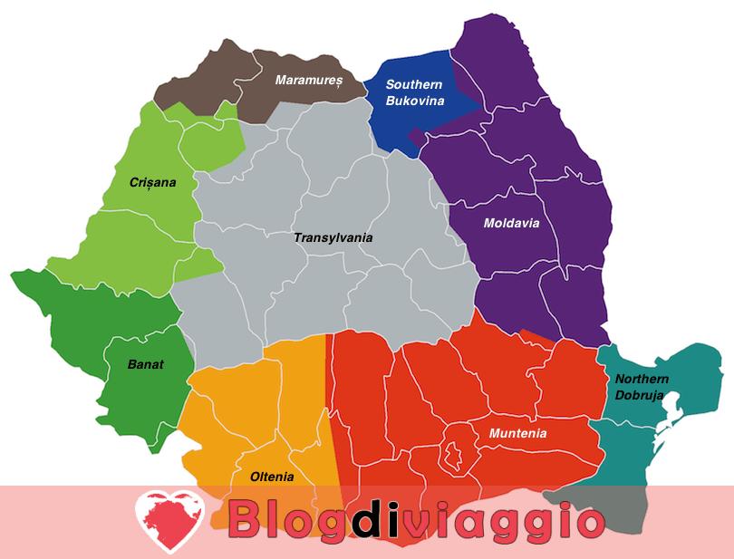 9 Regioni più belle in Romania