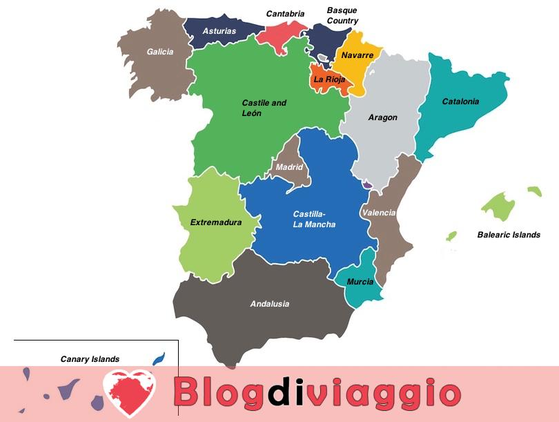 17 Regioni più belle di Spagna