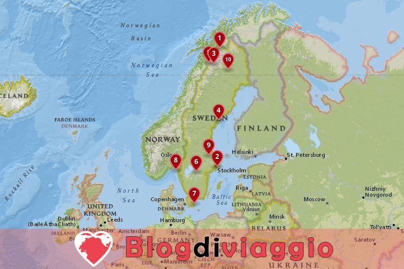 10 Parchi Nazionali più belli Svezia