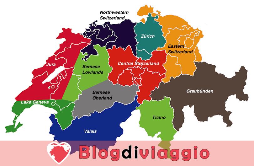 11 Regioni più belle della Svizzera
