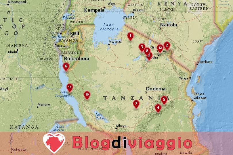 12 Parchi Nazionali più belli della Tanzania