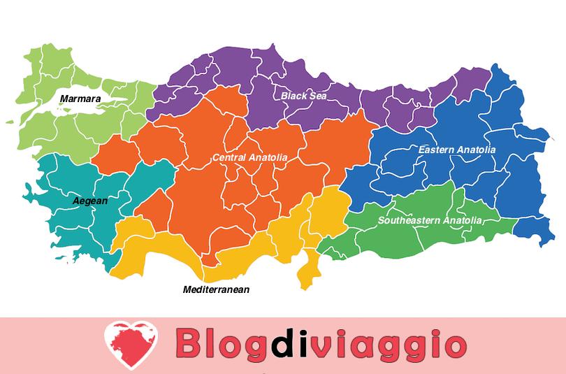 7 Regioni più belle della Turchia