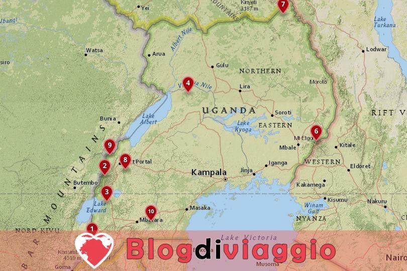 I 10 parchi nazionali più belli dell'Uganda