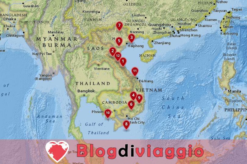 12 Parchi Nazionali più belli del Vietnam