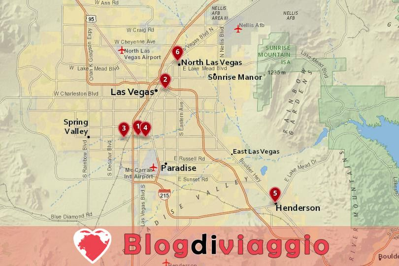 Dove alloggiare a Las Vegas: I migliori quartieri e hotel