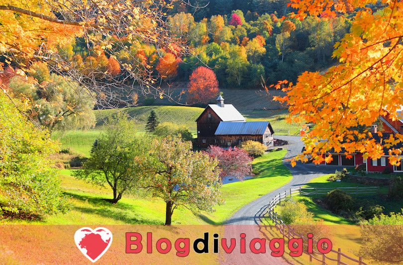 10 Luoghi da visitare in Vermont